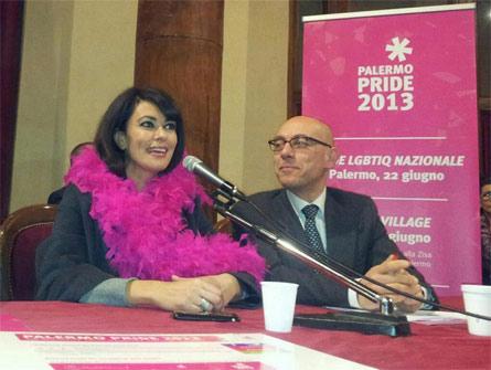 Maria Grazia Cucinotta, madrina del Palermo Pride 2013