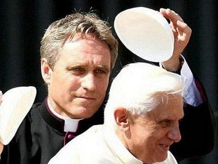 Joseph Ratzinger e Padre Georg