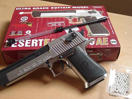 Un modello di pistola