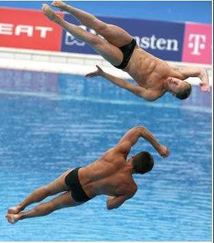 Mondiali di nuoto: I tuffi di Roma\