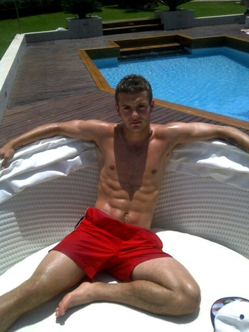 Jack Wilshere, il calciatore sempre mezzo nudo