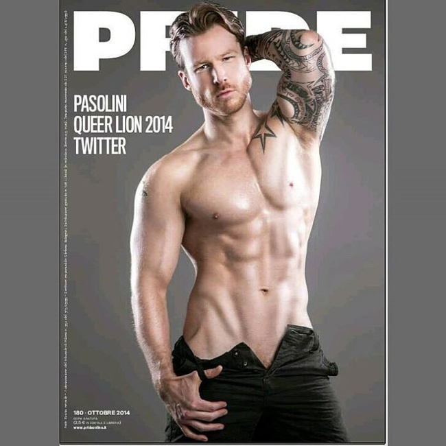 Pride Magazine: Stuart Hatton Jr., Mister Gay World 2014
