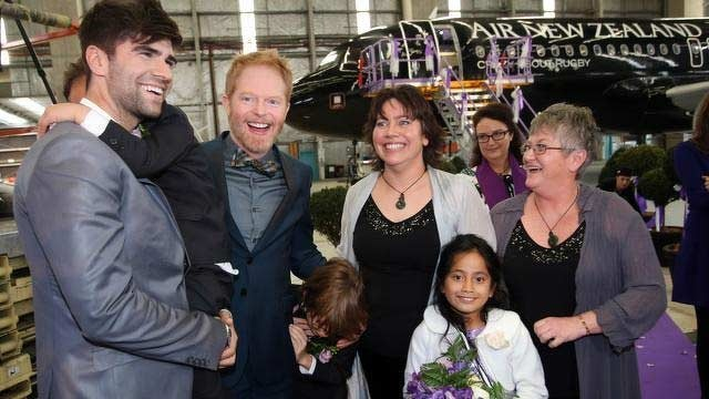 Matrimonio In Nuova Zelanda : Prime nozze gay volanti in nuova zelanda