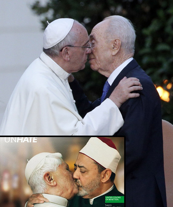 Papa Francesco vs Benetton