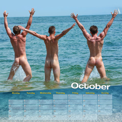 Nudi ed esibizionisti, il calendario dei Sons of the beach