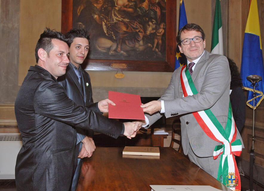 Registro unioni civili a Modena: ecco la prima coppia