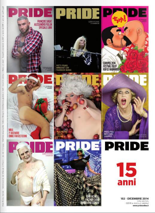 Il magazine Pride compie 15 anni