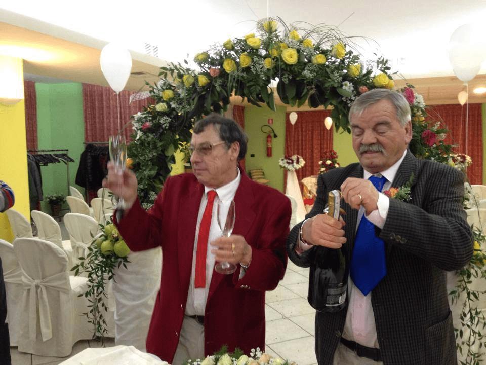 Bruno e Orlando: una festa per i 50 anni insieme