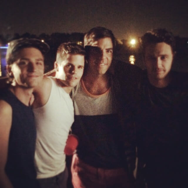 """""""Threesom"""" per James Franco, Zachary Quinto e Charlie Carver. FOTO"""