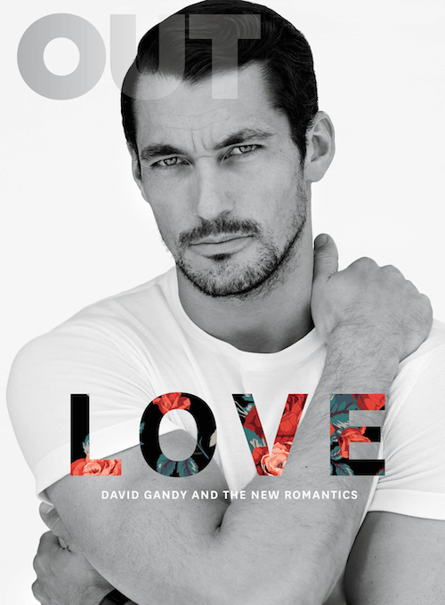 "David Gandy sexy su Out: ""Sono etero, ma con i ragazzi gay...\"""