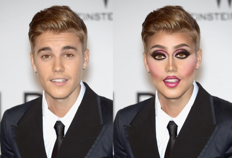 Se le celebrità fossero drag queen: da Harry Styles a Justin Bieber