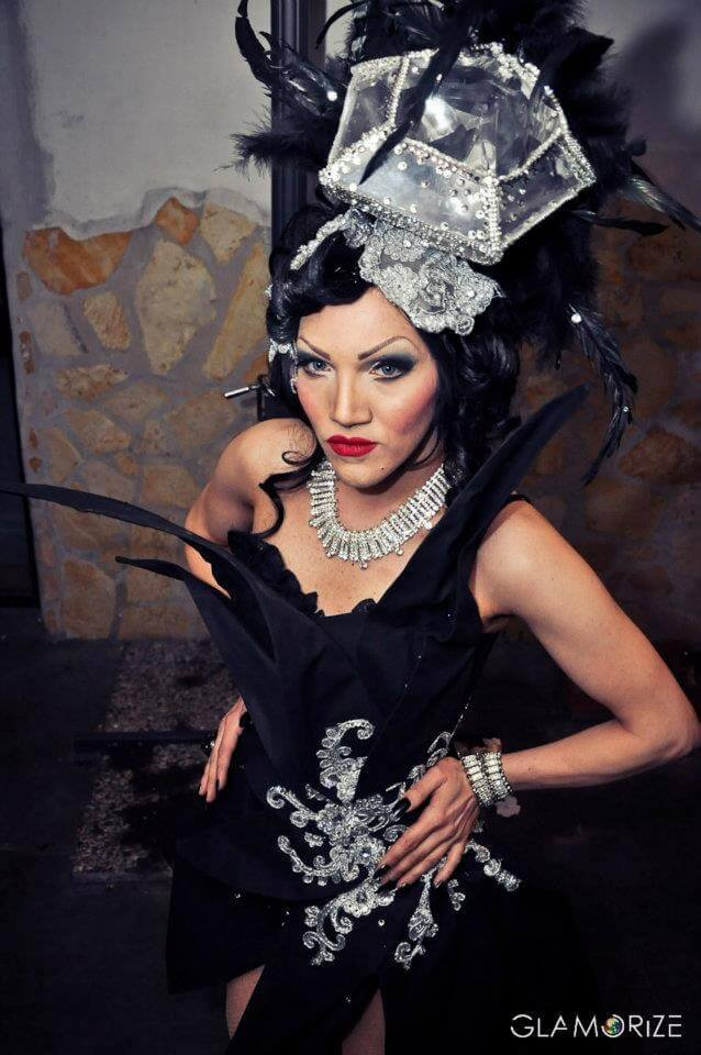 La Diamond, le immagini più belle della drag queen resident del Mucca
