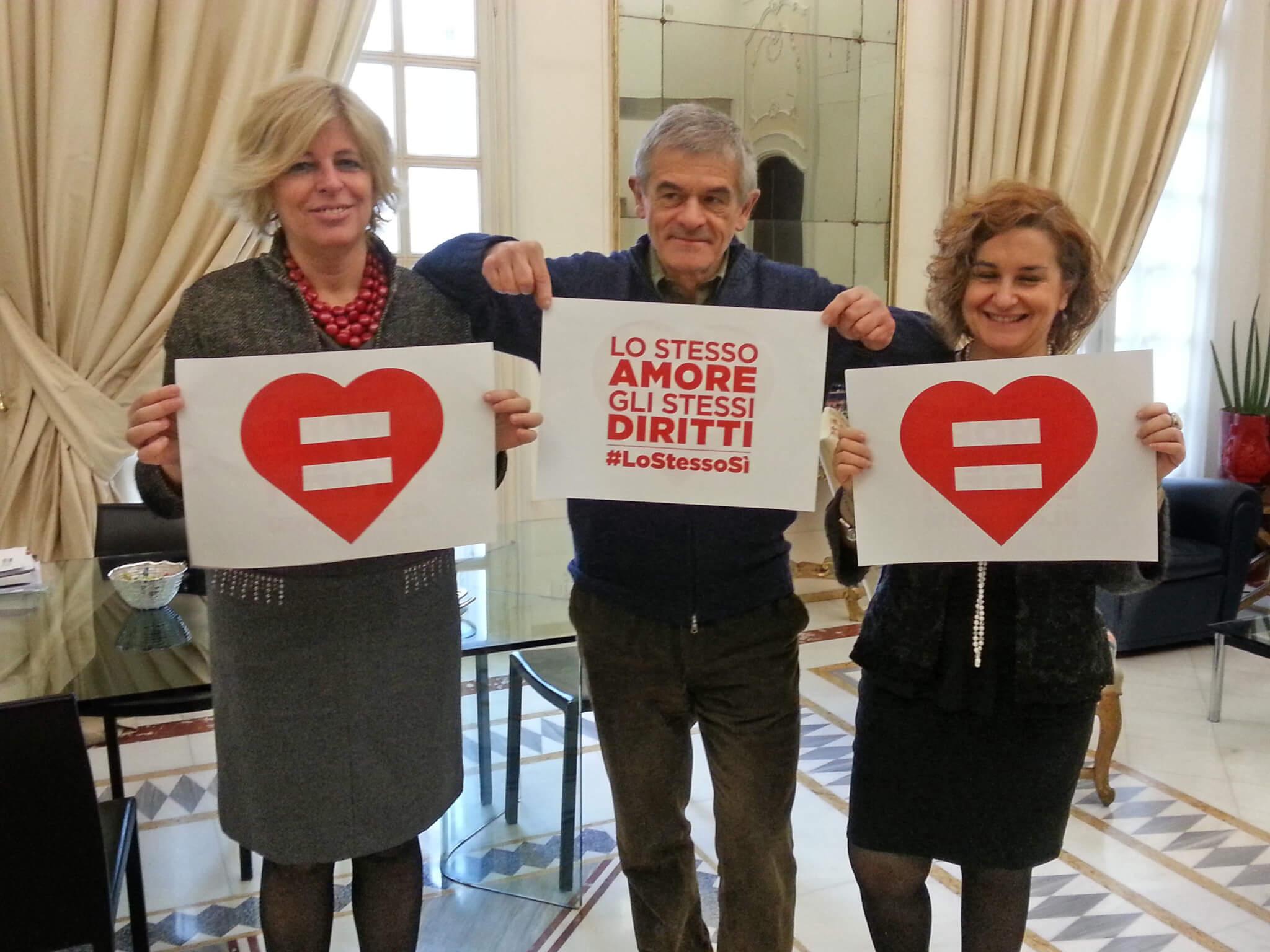 Anche Sergio Chiamparino e Piero Fassino aderiscono a #LoStessoSì