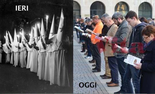 Tornano le sentinelle in piedi. Chissà per chi hanno pregato