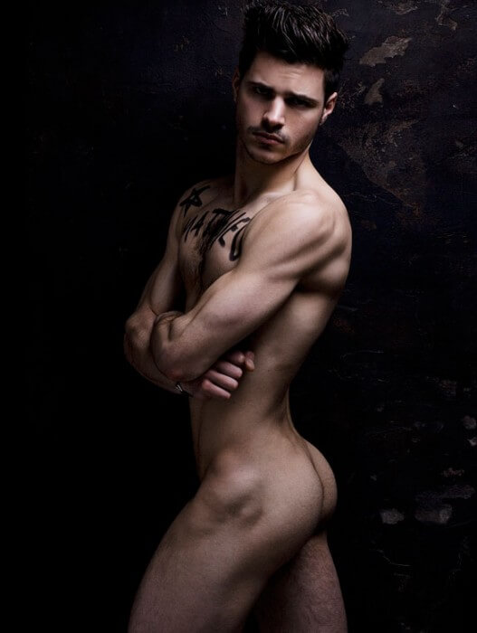 Matthieu_Charneau_Sexy_Model_ass