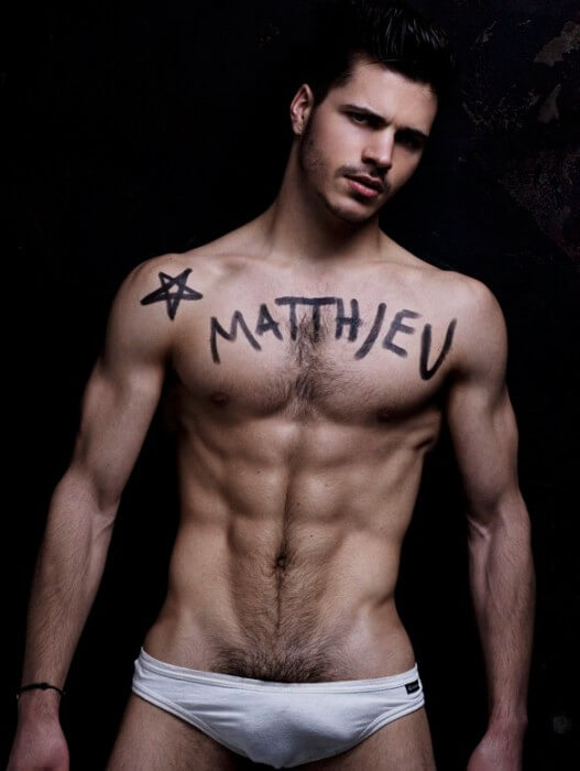 Matthieu_Charneau_Sexy_Model_body_written