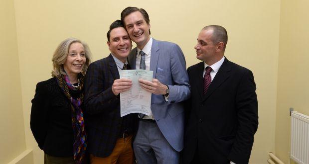 Ecco il primo matrimonio gay in Irlanda! Le immagini