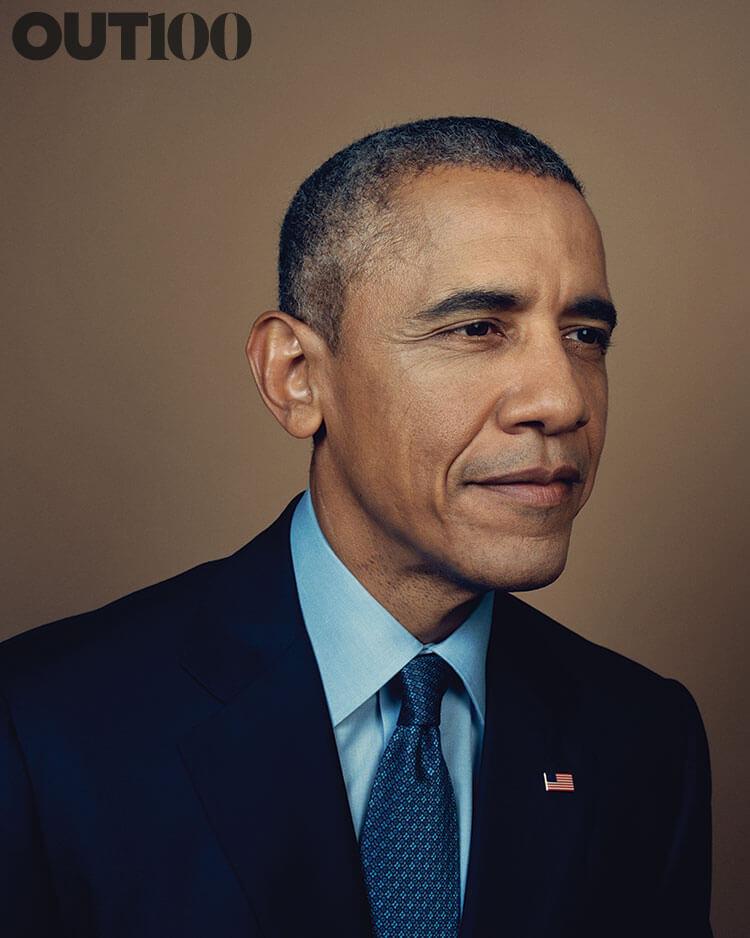 USA: Obama sulla copertina di Out Magazine