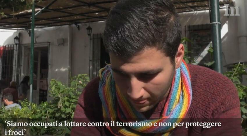 Gay in Tunisia: reportage dell\