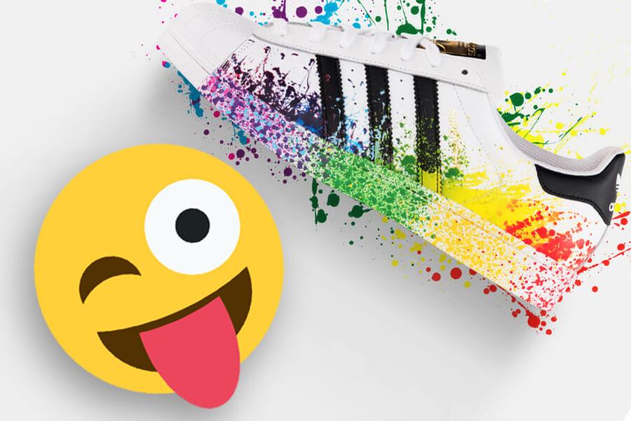 Adidas O1hhx5 It Colore Schizzi Con Superstar Scarpe Di Rymo q0n8I