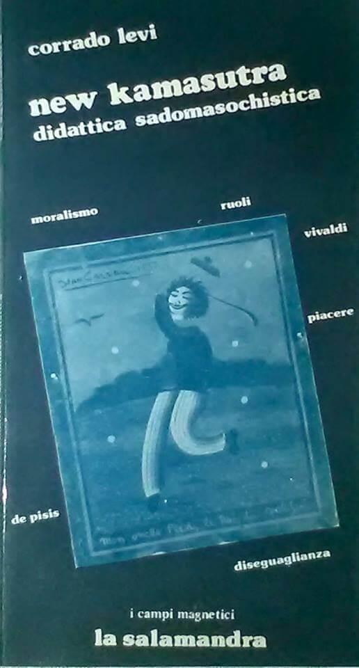 """Corrado Levi parla di sesso S&M nel suo libro """"New kamasutra"""", del 1979."""