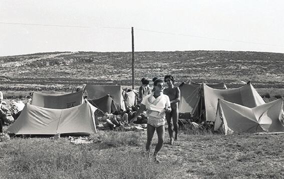Una foto dal greek camp.