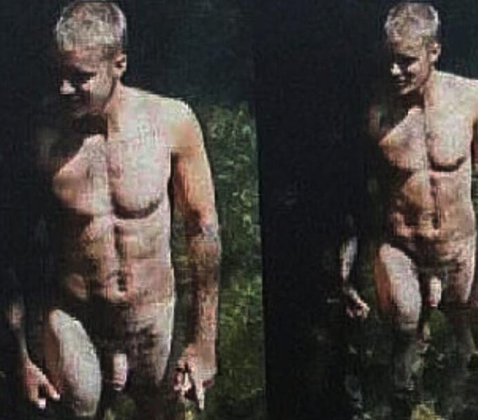 Justin Bieber nudo integrale alle Hawaii