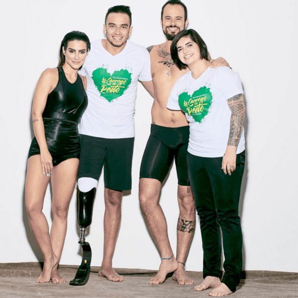 Paralimpiadi: Vogue Brasile modifica le foto dei modelli e li rende disabili. Giusto o sbagliato?