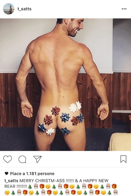Modelli amatoriali in formato natalizio: su Instagram impazza l\