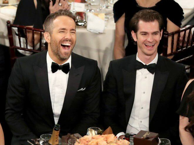 Ryan Reynolds e Andrew Garfield