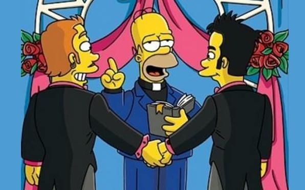 simpsons john gay