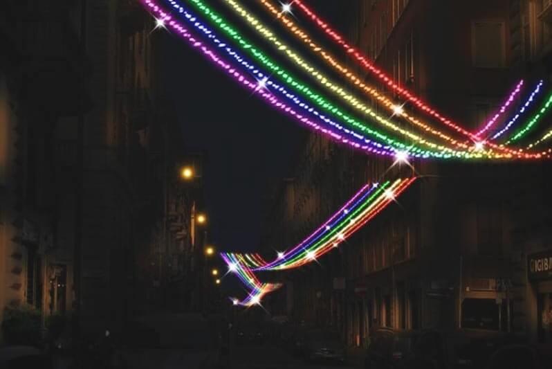 Milano crowdfunding per le luminarie di natale rainbow in - Cinema porta venezia milano ...