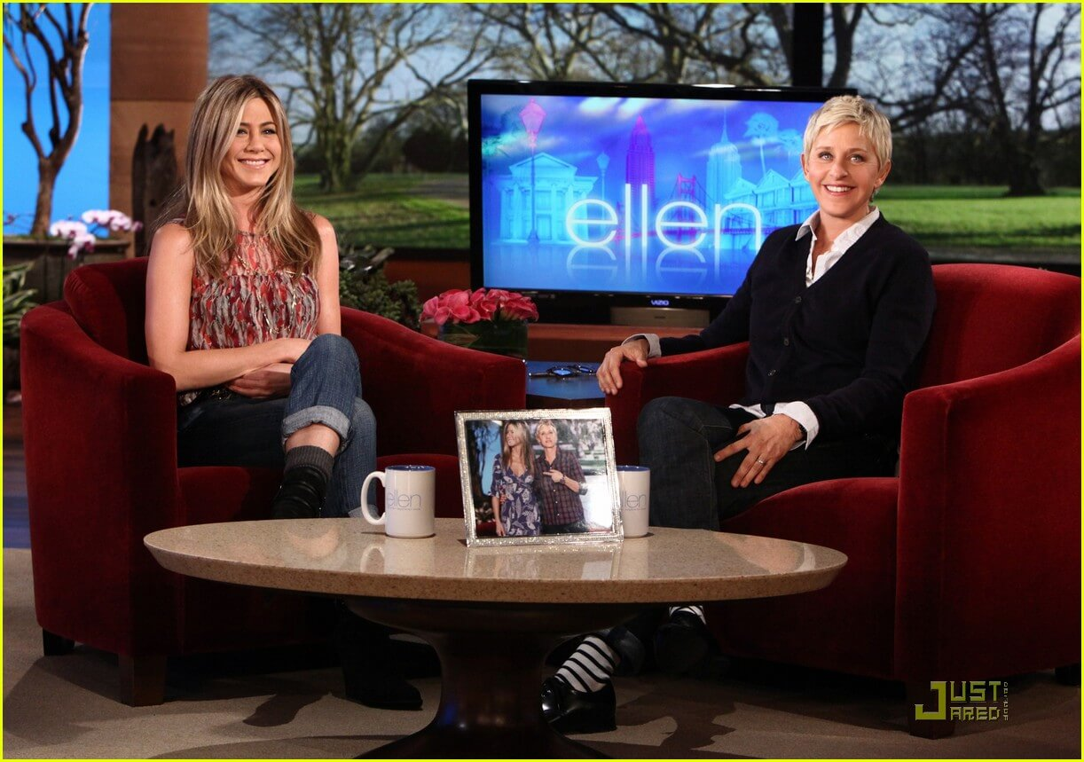 Ellen intervista Jennifer Aniston
