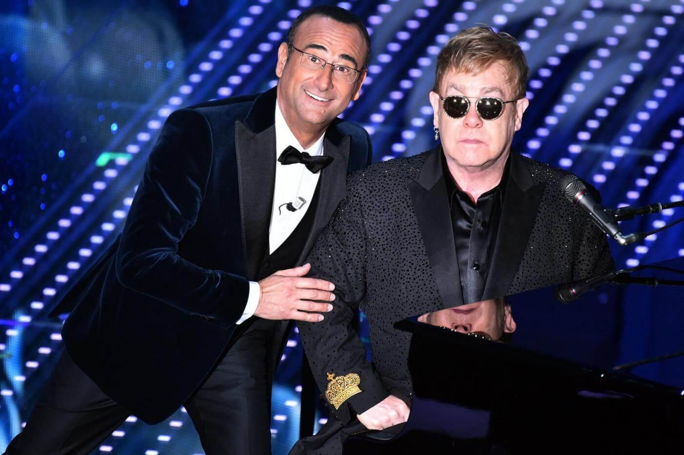 Elton John a Sanremo 2016