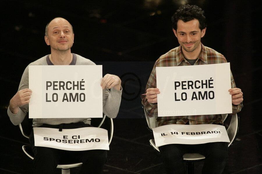 Futuri sposi a Sanremo
