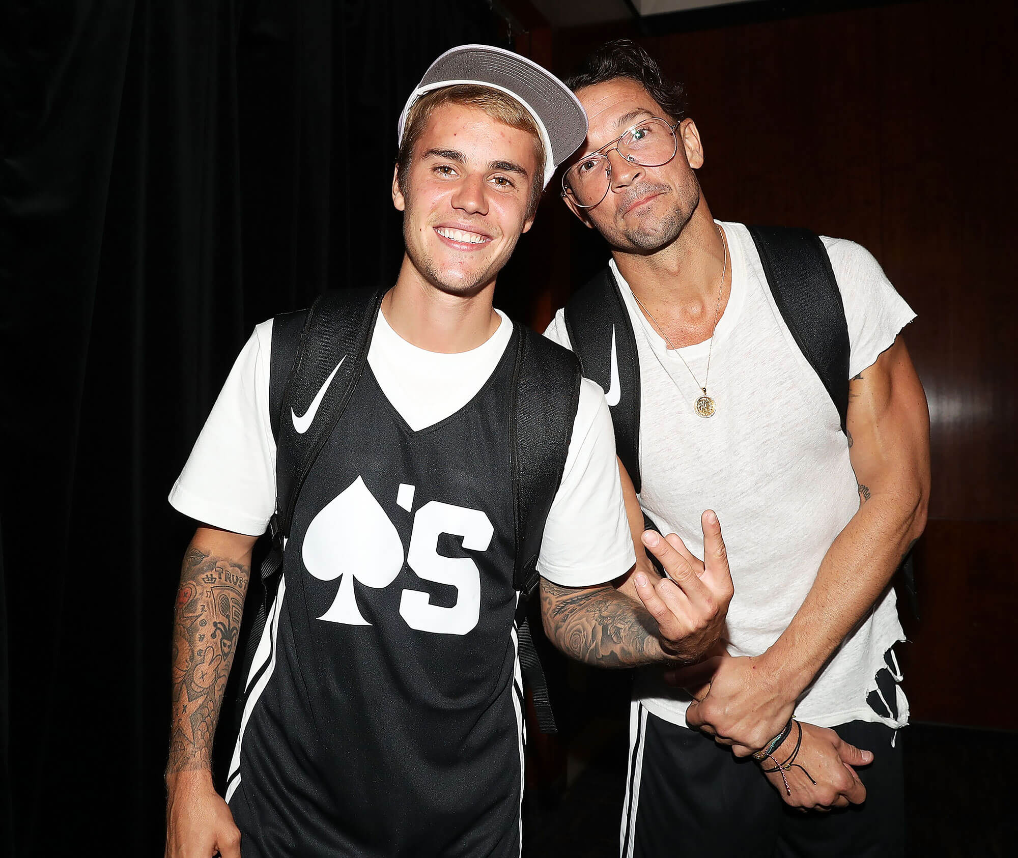 Justin Bieber e Carl Lentz