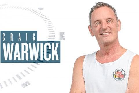 Craig Warwick: il compagno Enzo ha un tumore alla schiena