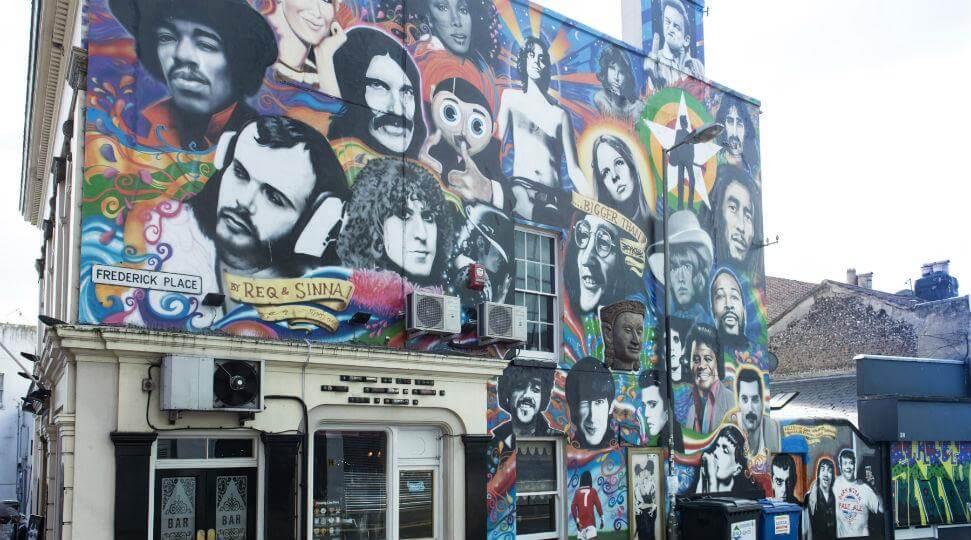 Street gay art Brighton
