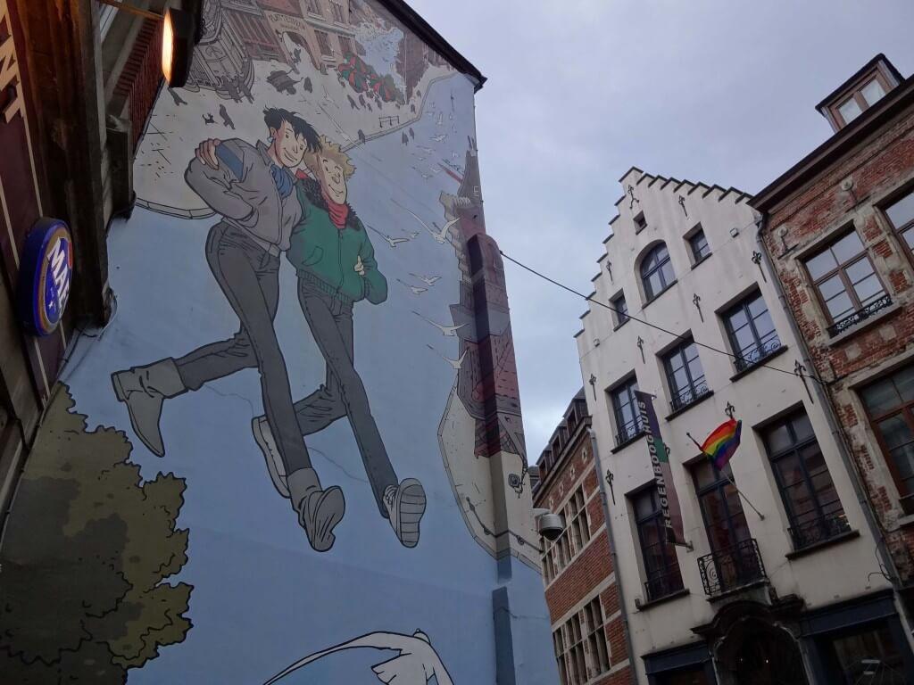Street gay art Bruxelles