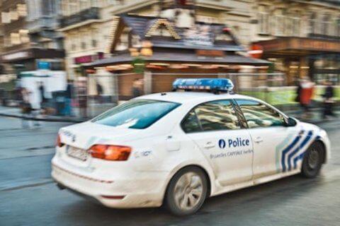 polizia bruxelles belgio