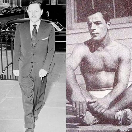 Tennessee Williams e Frank Merlo