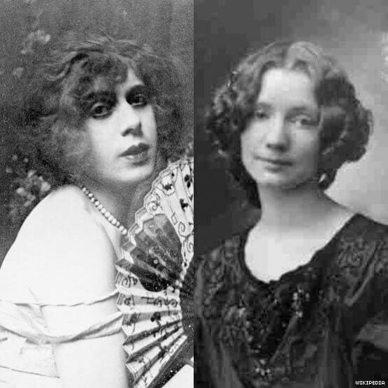 Lili Elbe e Gerda Gottlieb