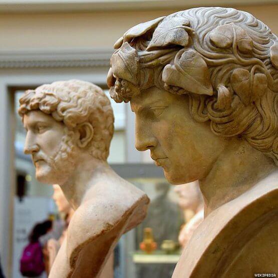 Imperatore Adriano e Antinoo