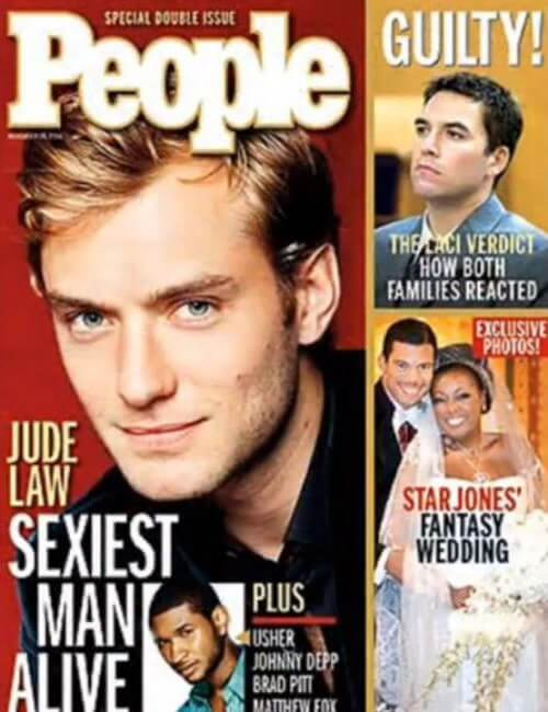 Sexiest Man Alive - Jude Law